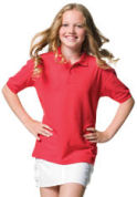 Childrenswear » Kids Poly/Cotton Polos » Jerzees Childrens Classic Polo Shirt