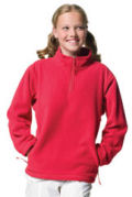 Childrenswear » Kids Quarter Zips » Jerzees Childrens 1/4 Zip Arctic Fleece